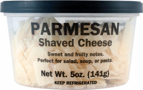 Parmesan Shaved Cheese Perspective: front