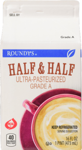Roundy's Half & Half Perspective: front