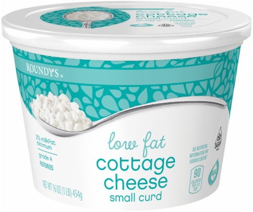 Roundy's Lowfat Cottage Cheese 2% Perspective: front