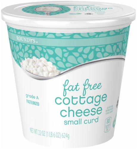Roundy's Fat-Free Cottage Cheese Perspective: front