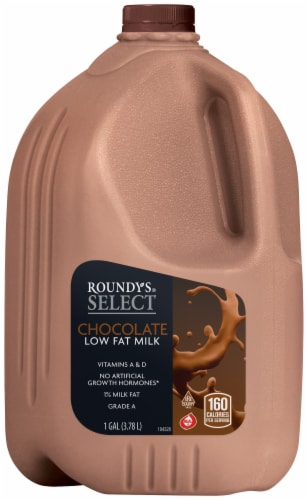 Roundy's Swiss Chocolate Milk Perspective: front