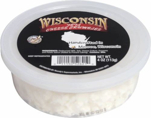 Wisconsin Feta Crumble Cup Perspective: front