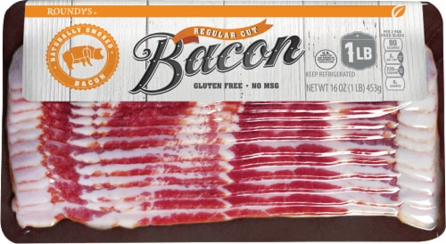 Roundy's Hardwood Smoked Bacon Perspective: front