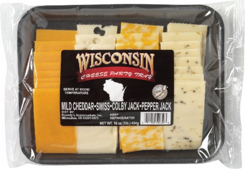 Wisconsin Cheese Tray Perspective: front