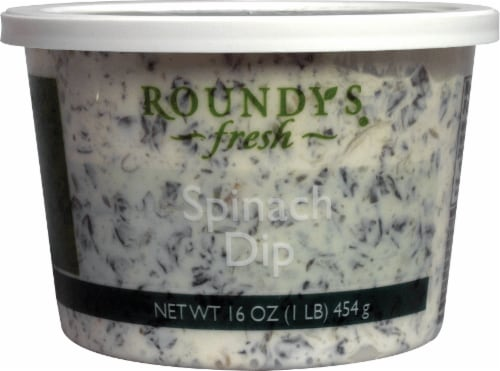 Roundy S Fresh Spinach Dip 1 Lb Metro Market