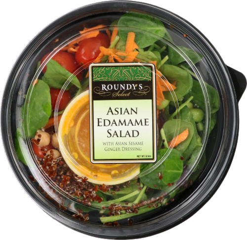 Roundy's Select Asian Edamame Salad Perspective: front