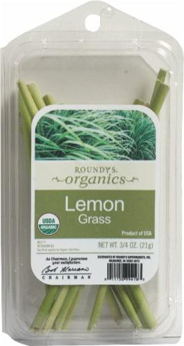 Roundy's Organics Lemon Grass Perspective: front
