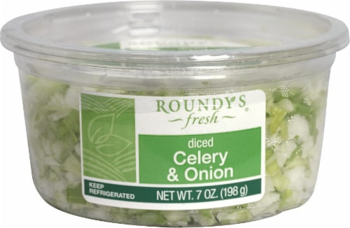 Roundy's Fresh Diced Celery & Onion Perspective: front