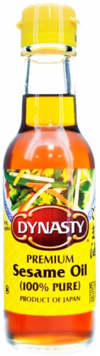 Dynasty 100% Pure Sesame Seed Oil Perspective: front
