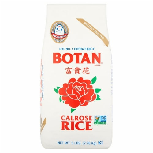 Botan Calrose Rice Perspective: front