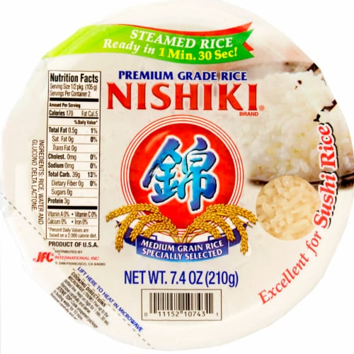 Nishiki Premium Steamed Rice Bowl Perspective: front