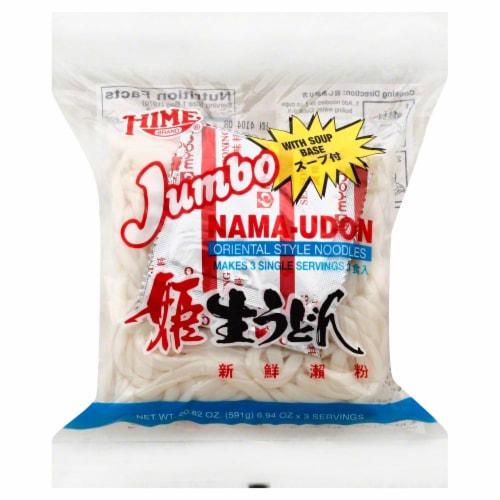 Hime Jumbo Nama-Udon Perspective: front