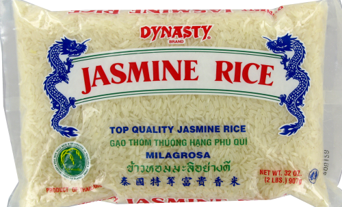 Dynasty Jasmine Rice Perspective: front