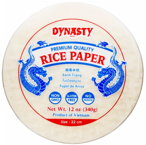 Dynasty Premium Quality Rice Paper Perspective: front