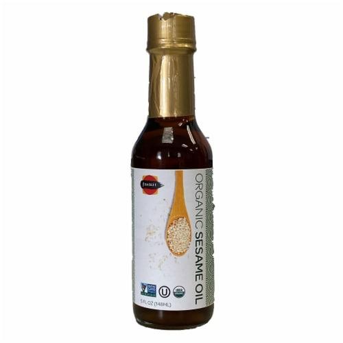 J-Basket Organic Sesame Oil Perspective: front