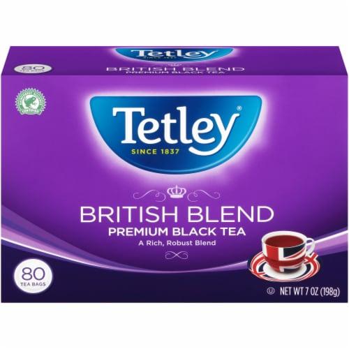 Tetley British Blend Black Tea Bags Perspective: front