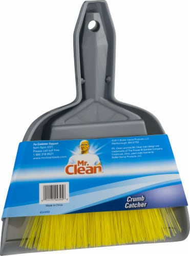Mr. Clean® Dust Pan and Brush - Gray Perspective: front