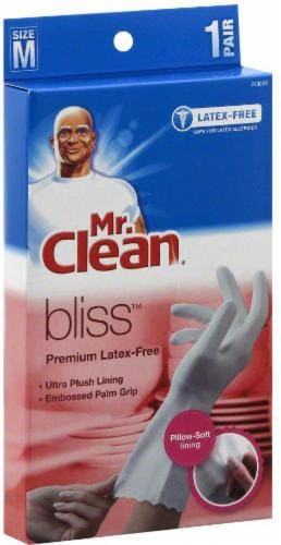 Mr. Clean Bliss Premium Latex-Free Gloves - Medium Perspective: front