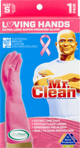 Mr. Clean Loving Hands Small Premium Gloves Perspective: front