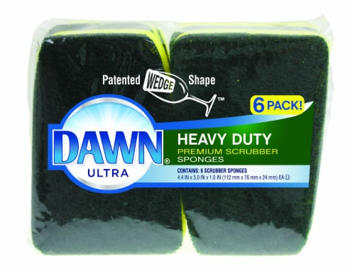 Dawn Ultra Heavy Duty Scrubber Sponges Perspective: front