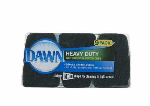 Dawn Heavy Duty Scrubber Sponges Perspective: front