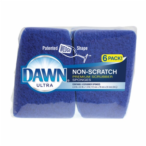 Dawn Ultra Non-Scratch Scrubber Sponges Perspective: front
