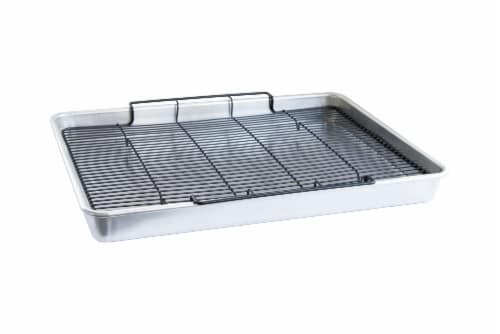 Nordic Ware Extra Large Oven Crisp Baking Tray Perspective: front