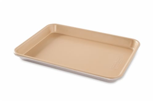 Nordic Ware Bakers Quarter Sheet Nonstick Pan - Gold Perspective: front