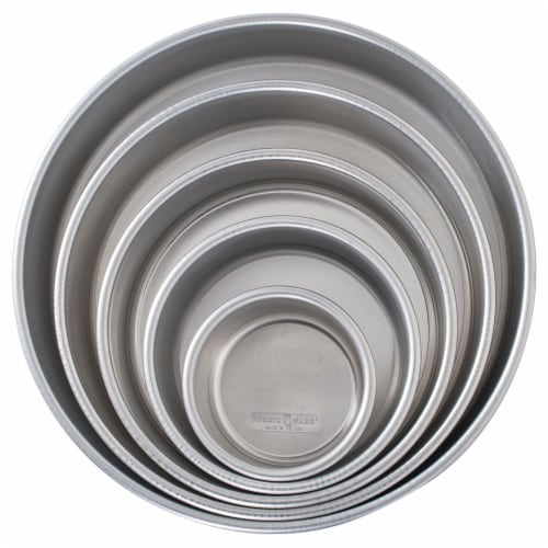 Nordic Ware 5 Pc Wedding Cake Set - 4 , 6 , 8 , 10',12 Perspective: front