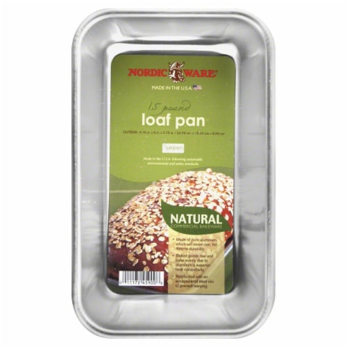 Nordic Ware Naturals Loaf Pan Perspective: front