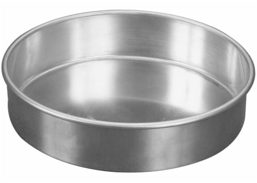 Nordic Ware Round Cake Pan - Silver Perspective: front
