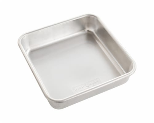 Nordic Ware Naturals Square Cake Pan Perspective: front