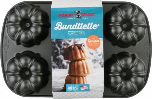 Nordic Ware Bundtlette Pan Perspective: front