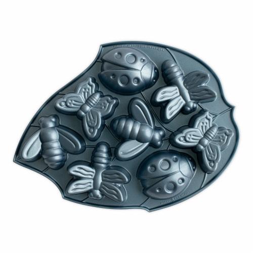 Nordic Ware Backyard Bugs Pan Perspective: front