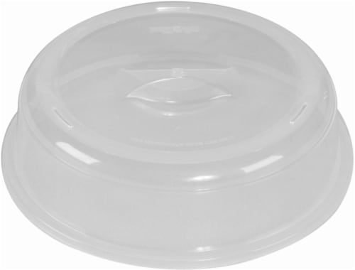 Nordic Ware Microwave Spatter Cover - Clear Perspective: front