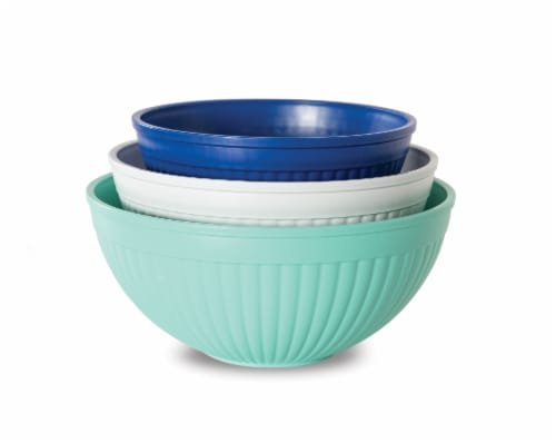 Nordic Ware Prep & Serve Mixing Bowls 3 Pack Perspective: front