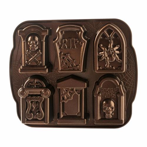 Nordic Ware Tombstone Cakeletes Perspective: front