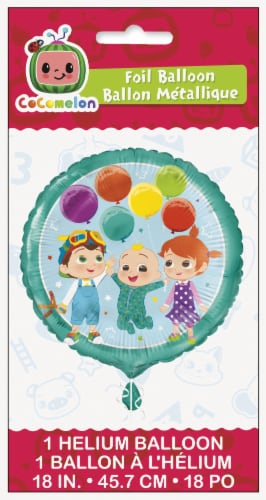 Cocomelon Foil Balloons - 1ct Perspective: front