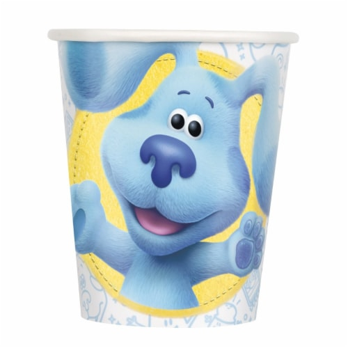 Blue's Clues 9oz Paper Cups - 8ct Perspective: front