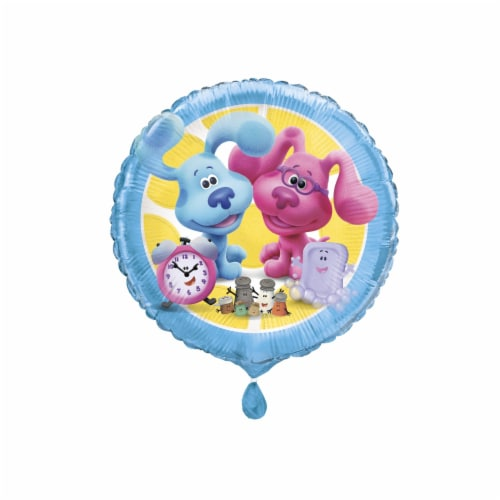 Blue's Clues Foil Balloon - 18 Inches Perspective: front