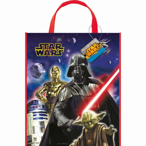 Star Wars Plastic Party Tote Bag Perspective: front