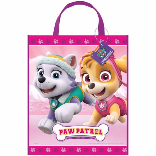 Paw Patrol Girl Plastic Tote Bag Perspective: front