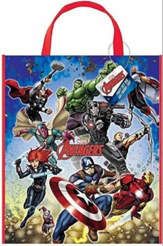 Avengers Plastic Tote Bag [13x11 inches] Perspective: front