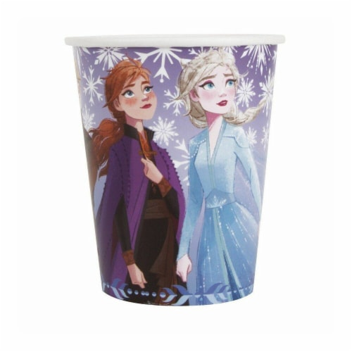 Frozen 2 Themed Party Cups Perspective: front