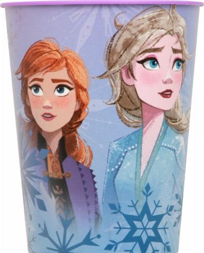Unique Disney Frozen 2 Plastic Cup Perspective: front