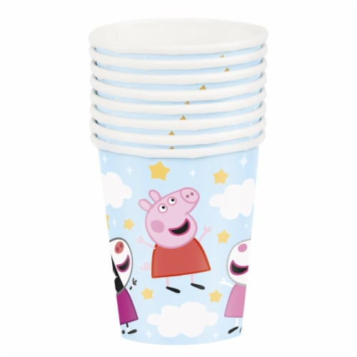 Peppa Pig 9oz Paper Cups 8ct Perspective: front