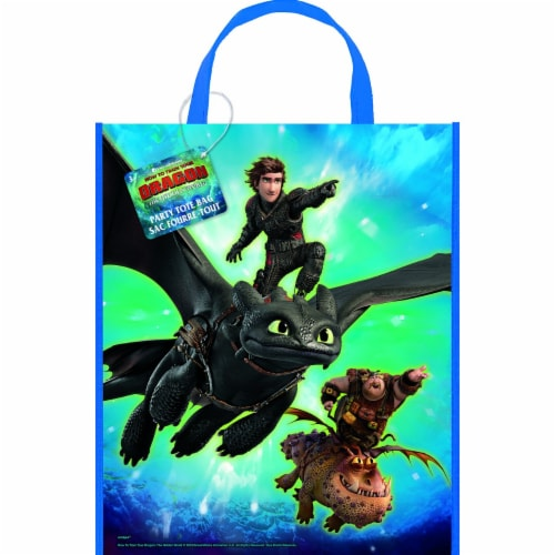How to Train Your Dragon: The Hidden World - Party Tote Bag Perspective: front