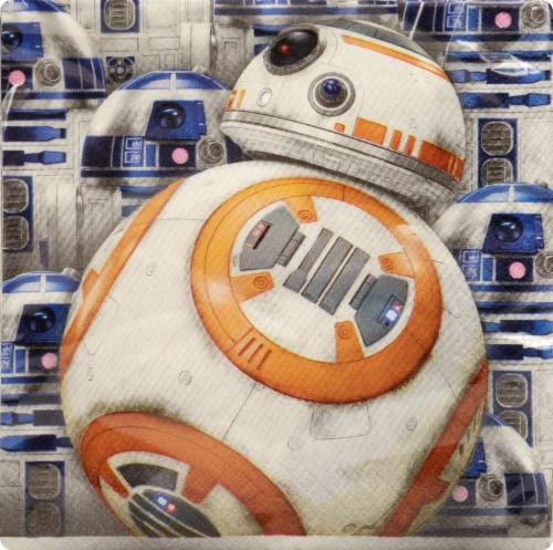 Unique Star Wars Lunch Napkins Perspective: front