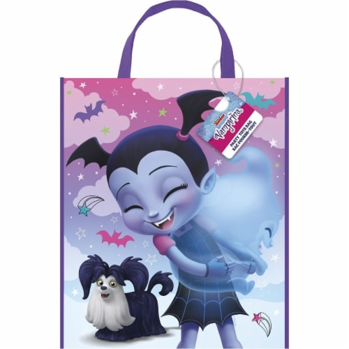 Disney Vampirina Plastic Party Favor Tote Bag (1 Unit) Perspective: front