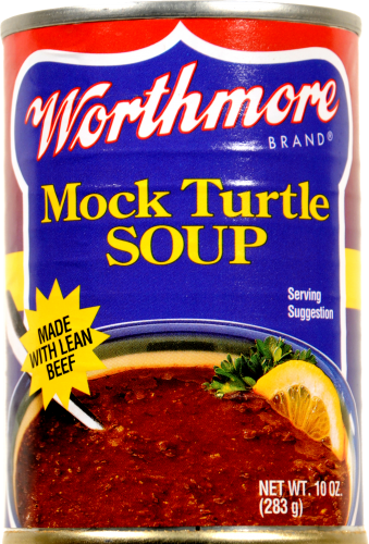 Worthmore Mock Turtle Soup Perspective: front